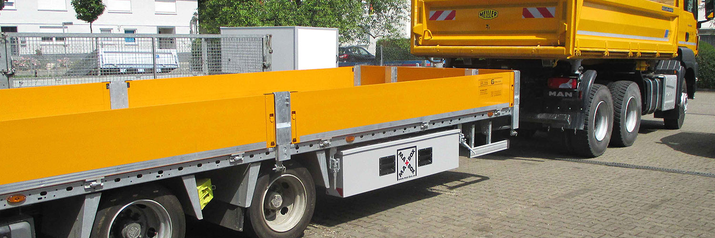 MAXBOX Staubox Baufahrzeug