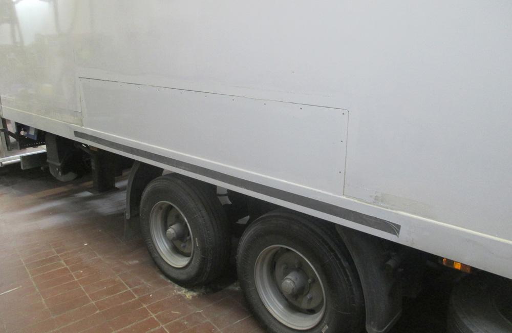 Reparatur Koffer LKW